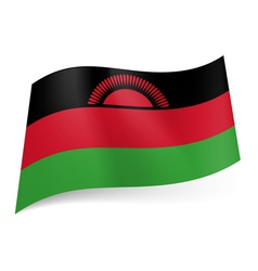 State flag of malawi vector