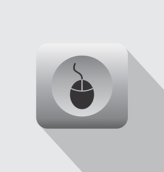 Desktop mouse icon vector