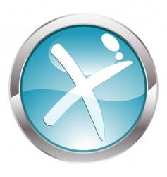 Gloss button vector