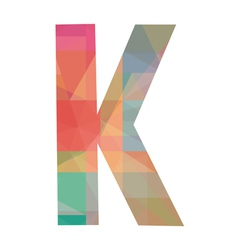 K alphabet vector