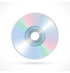 Compact disk icon vector