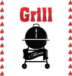 Grill 07 resize vector