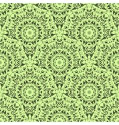 Abstract seamless light green geometric pattern vector