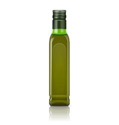 Olive oil bottle template vector
