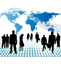 Worldwide business vector