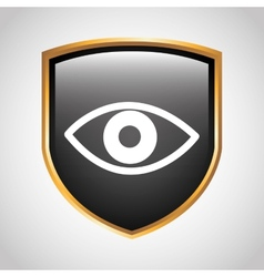 Eye shield vector