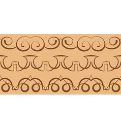 Curbs seamless pattern vector