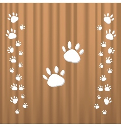 Trace cats vector