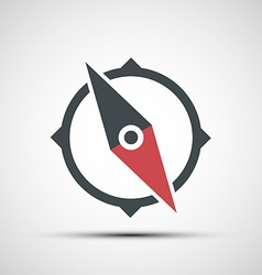 Compass icon vector