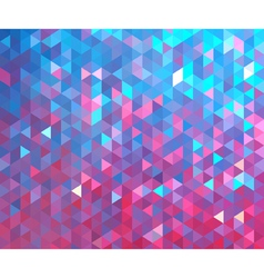 Colorful geometric background vector