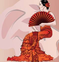 Flamenco vector