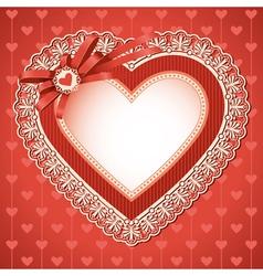 Valentines day vintage vector