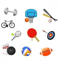 Sport symbols vector
