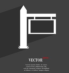 Information road sign icon symbol flat modern web vector
