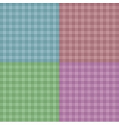 Background easy tileable red blue pink and green vector