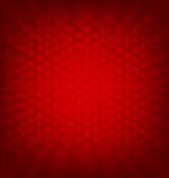 Red sunburst banner vector