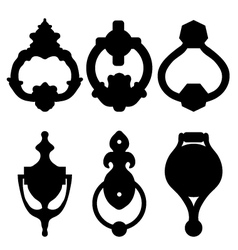 Door knocker vector