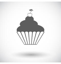 Icon cake vector
