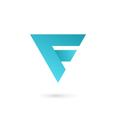 Letter f logo icon design template elements vector