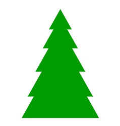 Fir tree background vector