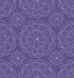 Henna seamless pattern vector