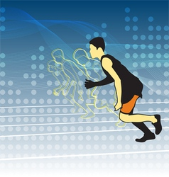 Athletics vector