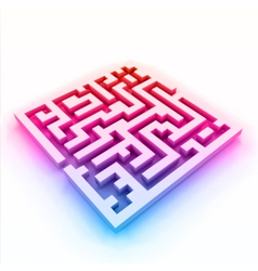 Colorful maze labyrinth vector