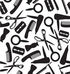 Hairdressing saloon background vector