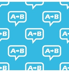 A to b message pattern vector