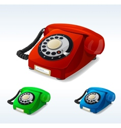 Old phones vector
