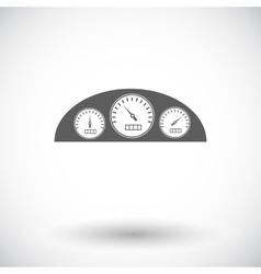 Icon dashboard vector