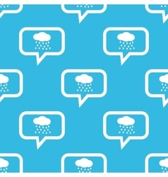 Rain message pattern vector