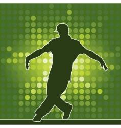 Breakdance silhouette vector