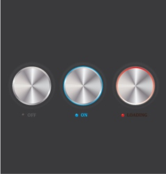 Set of knob vector