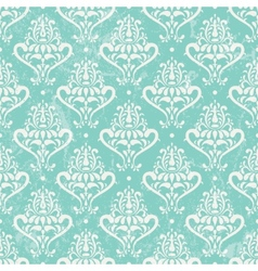 Turquoise vintage wallpaper vector