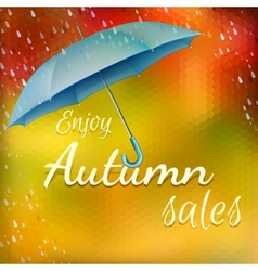 Enjoy autumn sales eps 10 vector