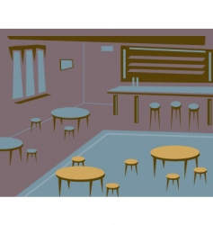 Empty bar vector