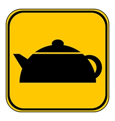 Kettle button vector