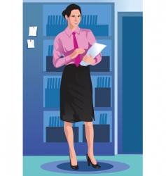 Girl business vector