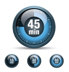 Set of timer clock vector