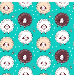 Sheep and bells vector