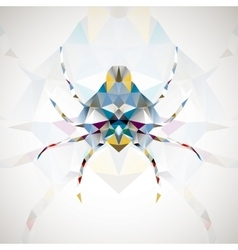 Abstract spider vector