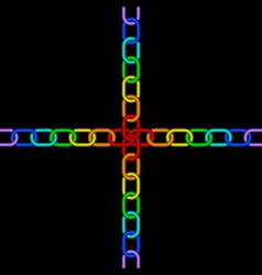 Chain rainbow vector