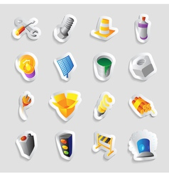 Icons for industry and technology vector