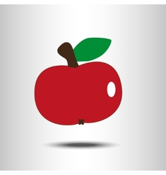 Red apple vector