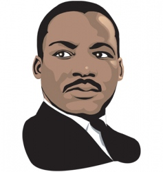 Martin luther king vector