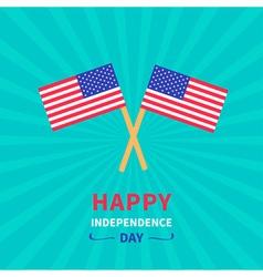Starburst background flag independence day vector