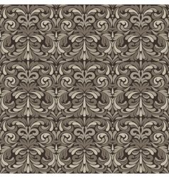 Patina baroque pattern vector