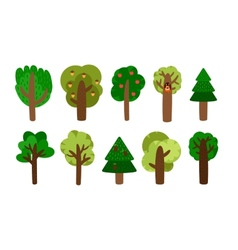 Trees clip art vector