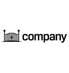 Security gates logo vector